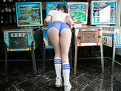 Teen Pinball Wizard Hits The Creampie Jackpot